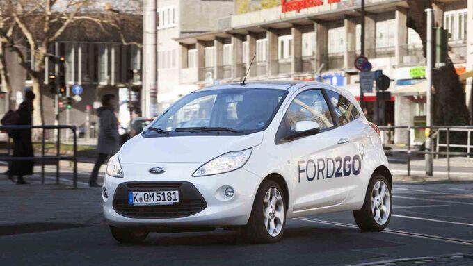 quot;FORD2GOquot;: Ford kŸnftig erster Hersteller mit bundesweitem Carsharing-Angebot
