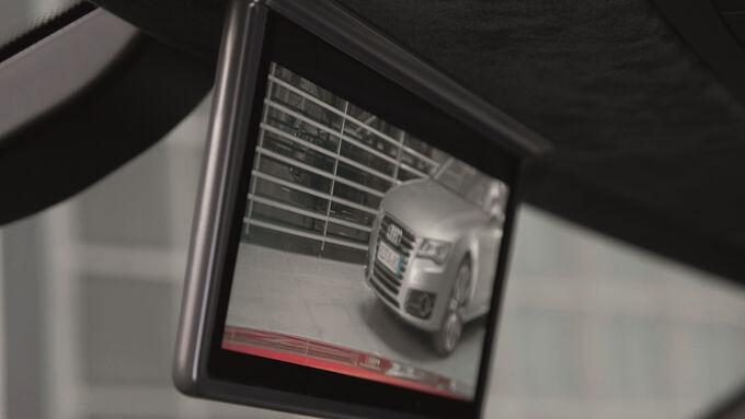 Audi R8 e-tron, Kamera, Bildschirm, Innenspiegel