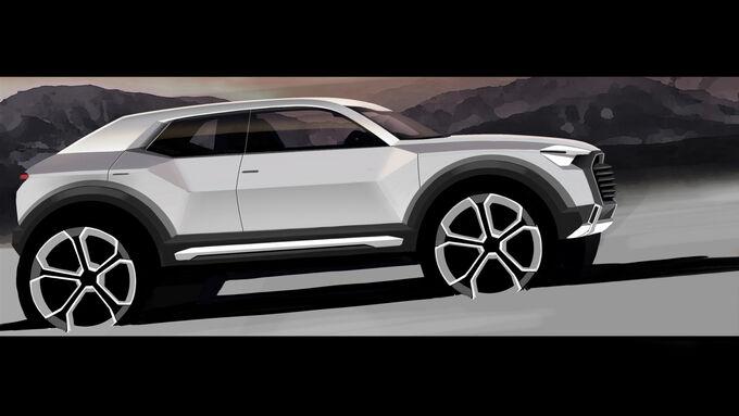 Audi beschliesst Entwicklung des Q1 als neues Mitglied der Q-Familie