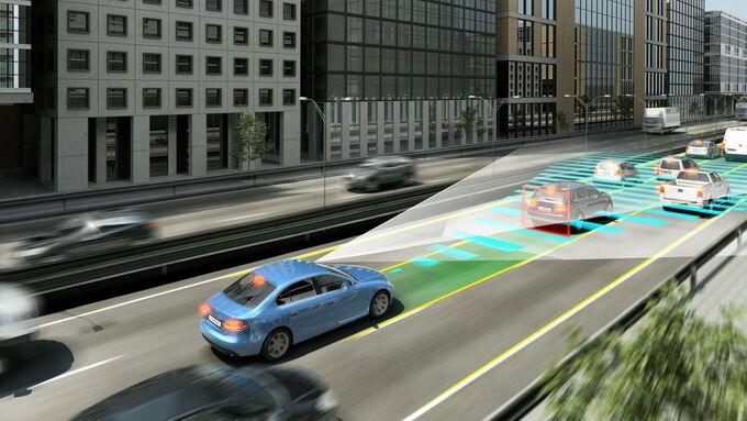 Bosch automatisiertes Fahren Assistenzsysteme radartempomat