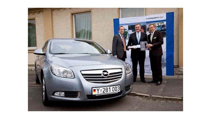 Bundeswehr steht auf Opel