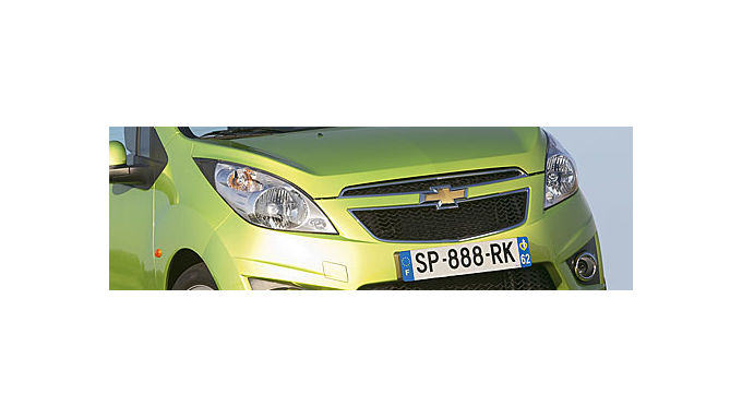 Chevrolet Spark soll Funken sprühen