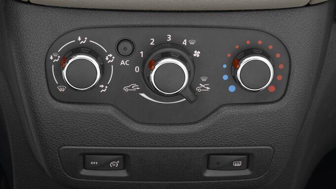 Dacia Lodgy, Klimaanlage