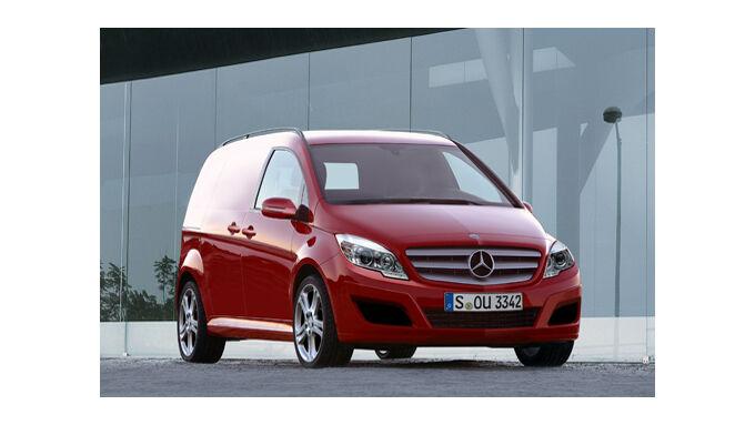 Daimler und Renault bauen neuen Vaneo