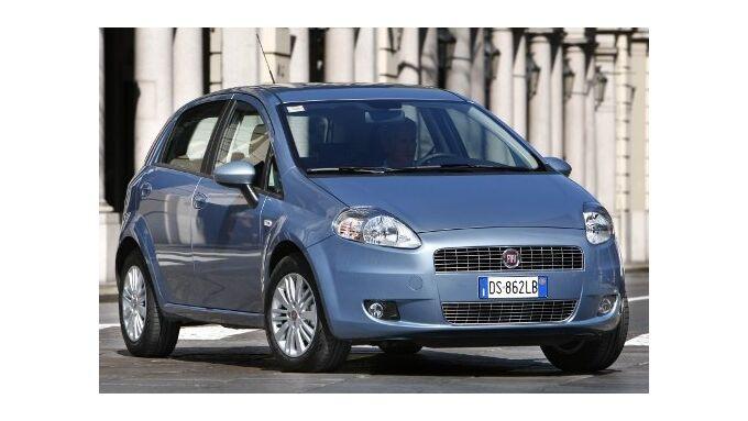 Der Fiat Grande Punto Natural Power