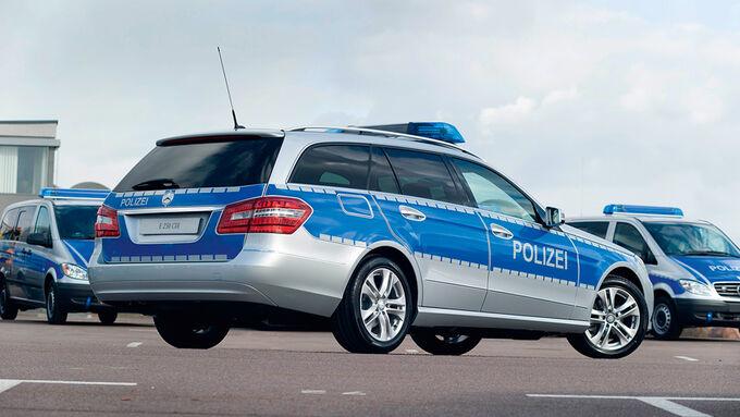Die Polizei Baden-Württemberg least 1.094 Mercedes