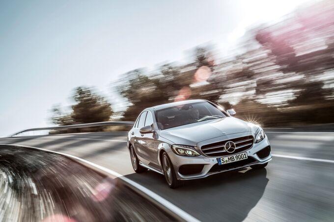 Die neue Mercedes C-Klasse