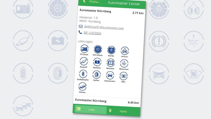 Euromaster Service App
