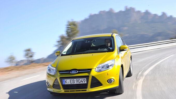 Ford Focus: Europas erstes Benziner-Familienfahrzeug unter 100 Gramm CO2/km - dank 1,0-Liter-EcoBoost-Motor