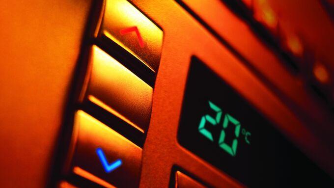 Klimaanlage, Kältemittel, Temperatur