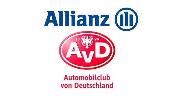 Kooperierende Partner: AvD und Allianz