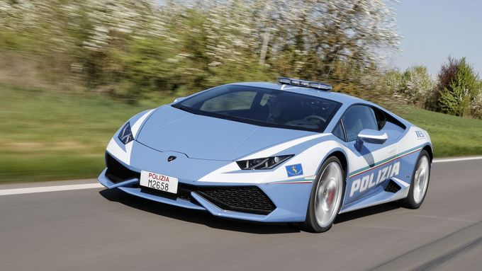 Lamborghini Huracán für italienische Polizei