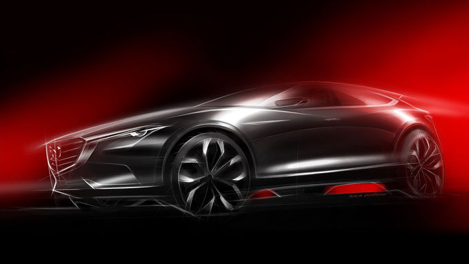Mazda-Studie zur IAA 2015