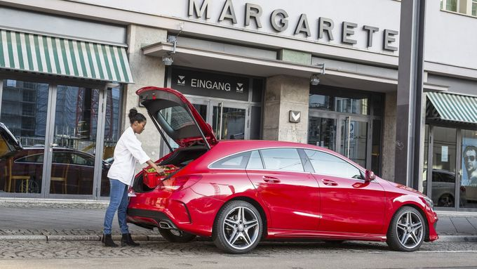 Mercedes CLA Shooting Brake Faru einkaufen Privatnutzung