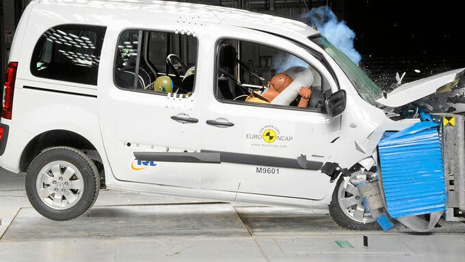 Mercedes Citan Crash Test 2013 Euro NCAP