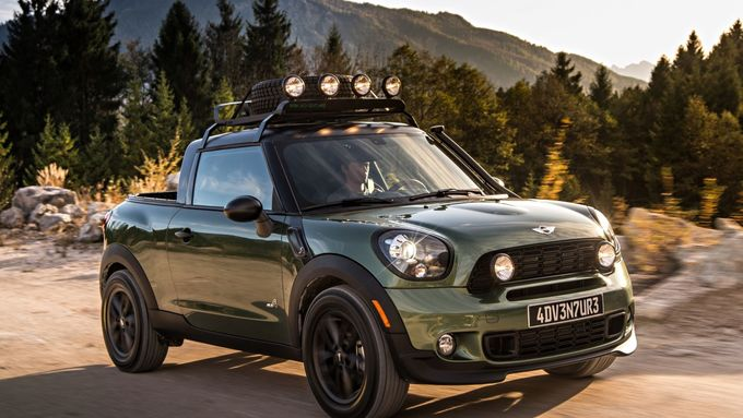 Mini Paceman Adventure, Pick-Up, 2014