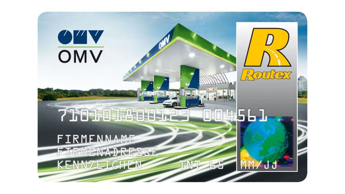 OMV Card skaliert