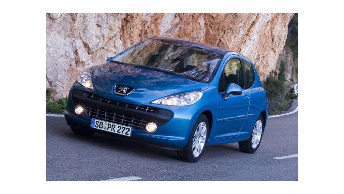 Peugeot 207 mit weniger CO2
