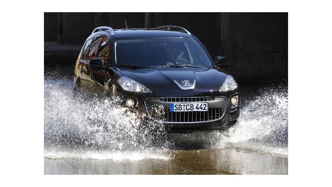 Peugeot 4007: Sauberer SUV