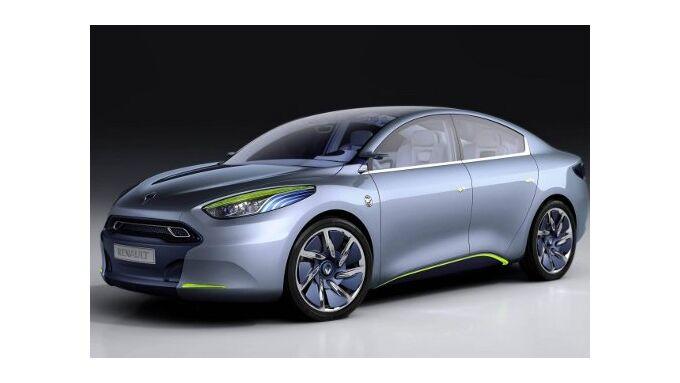 Renault Fluence mit Elektroantrieb