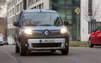 Renault Kangoo Z.E., Geschichte techel