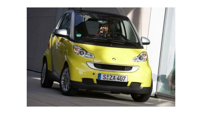 Smart ist der meistverkaufte Mini