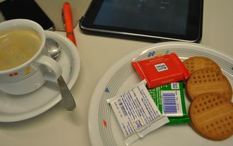Spesen Kekse Büro Kaffee