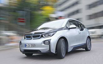 Test BMW i3, Captain Future