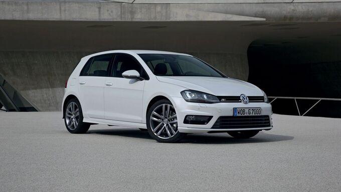 VW Golf mit Design-Paketen