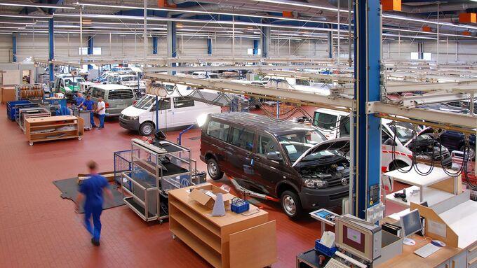 VW Nutzfahrzeugproduktion Hannover 2012