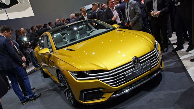 VW Sport Coupé Concept GTE