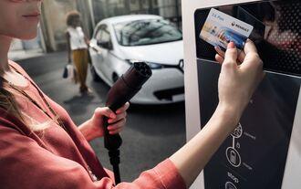 ZE Pass Renault Ladesäule Strom