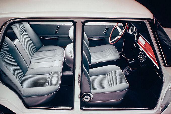 Alfa Romeo Giulia, Innenansicht