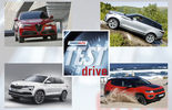 Alfa Romeo, Range Rover, Skoda, Jeep