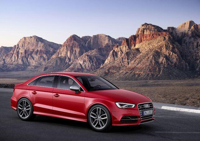 Audi A3 in Rot