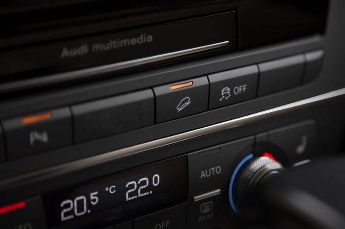 Audi A6 allroad Klimaanlage