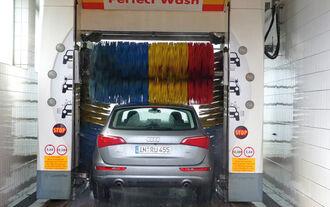 Audi Q5 2.0 TFSI Quattro, Waschstraße, waschen