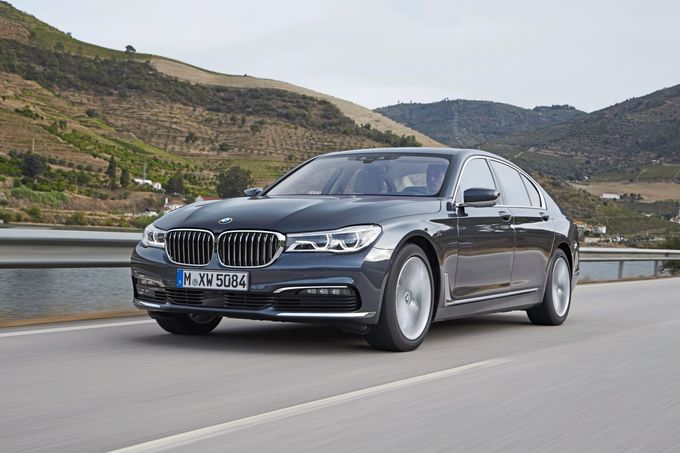 BMW 740e i-Performance, vorne