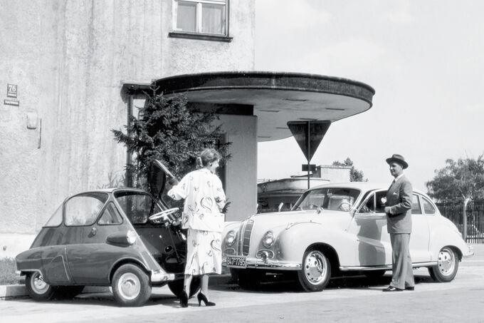 BMW Isetta, Hierarchie