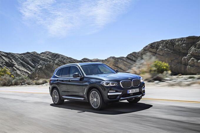 BMW X3 IAA 2017