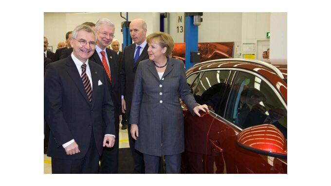 Bundeskanzlerin besucht Rüsselsheim