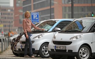 Car2go Hamburg, Europcar