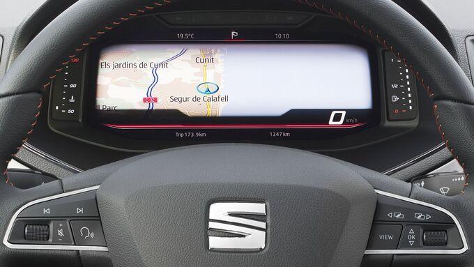 Das neue Kombiinstrument für Seats Ibiza und Arona