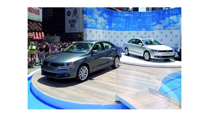Der Big Apple feiert den VW Jetta