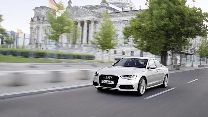 Deutscher Bundestag faehrt effiziente Audi ultra-Modelle
