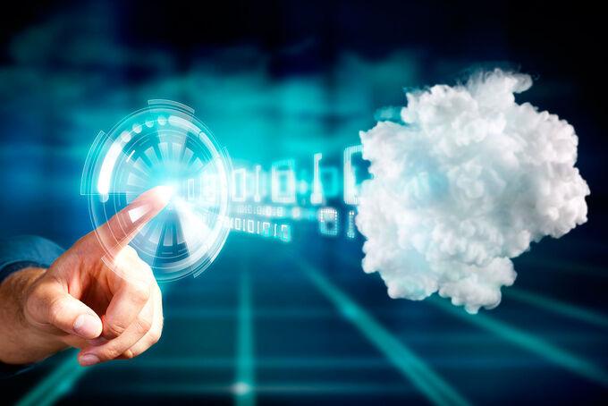 Die Daten in der Cloud