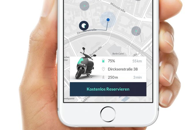 E-Scooter Coup App