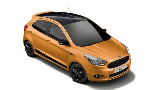 Ford Ka+ Black Edition