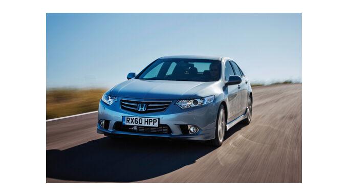 Honda Accord mit neuen Motoren