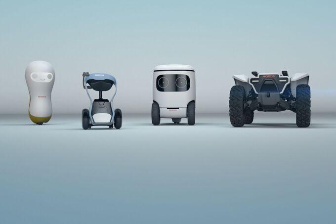 Honda Roboter Vehikel 2018